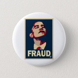 Barack Obama is a Fraud Button