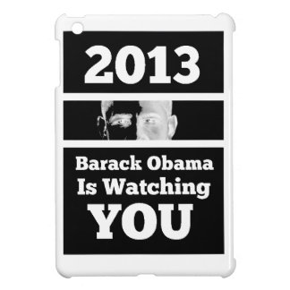 Barack Obama is Watching You Big Brother Parody iPad Mini Covers