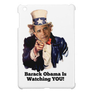 Barack Obama Is Watching YOU Uncle Sam Parody Case For The iPad Mini