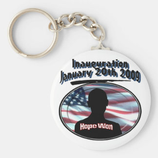 Barack Obama January 20th 2009 Inauguration Keychain