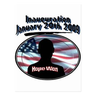 Barack Obama January 20th 2009 Inauguration Postcard