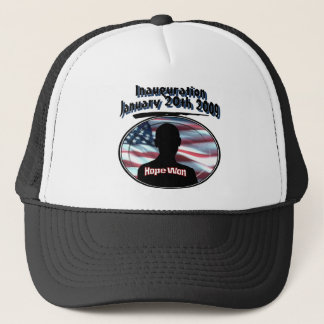 Barack Obama January 20th 2009 Inauguration Trucker Hat