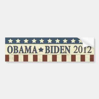 Barack Obama Joe Biden 2012 Etiqueta De Parachoque
