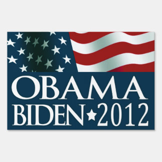 Barack Obama Joe Biden in 2012 Sign