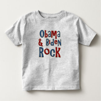 Barack Obama Joe Biden Rock Toddler T-shirt