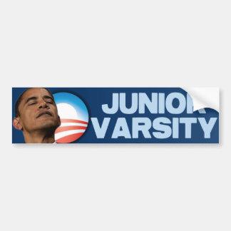 Barack Obama: Junior Varsity Car Bumper Sticker