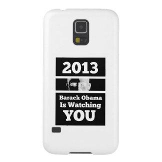 Barack Obama le está mirando parodia de hermano Carcasas De Galaxy S5