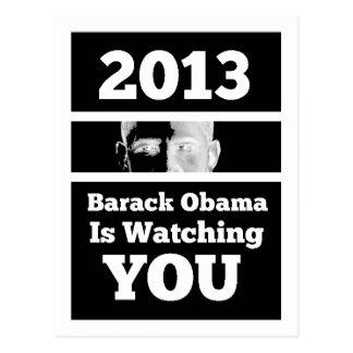 Barack Obama le está mirando parodia de hermano Postales