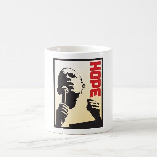 Barack Obama - Leadership Classic White Coffee Mug