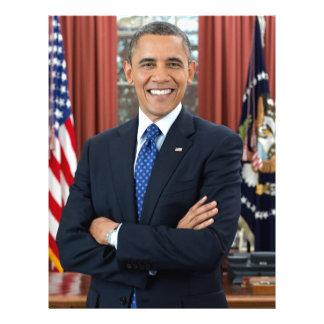 Barack Obama Letterhead