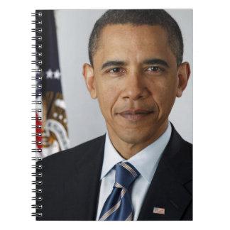 Barack Obama Libros De Apuntes Con Espiral