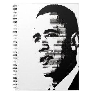 Barack Obama Libreta Espiral