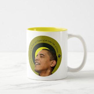 Barack Obama Living The Dream Mug