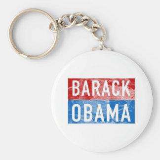 Barack Obama Llavero Redondo Tipo Pin