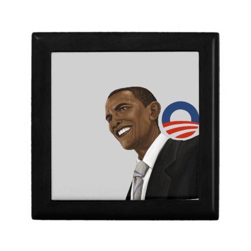 Barack Obama Logo Gift Box