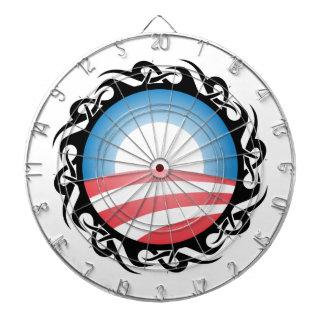 BARACK OBAMA: logotipo tribal