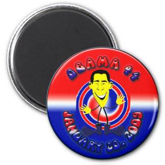 Barack Obama Refrigerator Magnet