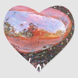 Barack Obama Mars Heart Sticker