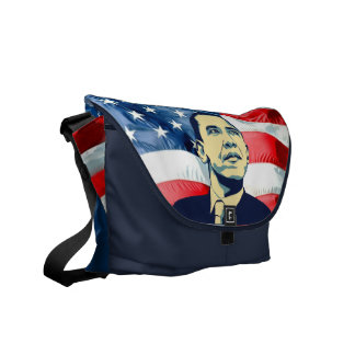 Barack Obama Messenger Bag