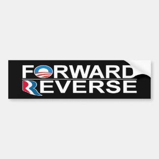 Barack Obama Mitt Romney remite revés Pegatina Para Auto