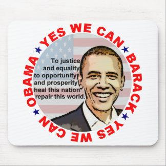 Barack Obama Mouse Pad
