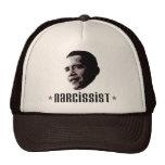 Barack Obama Narcissist Trucker Hats