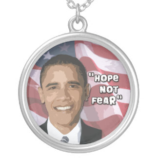 Barack Obama Necklace