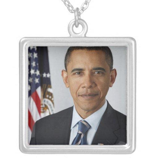 Barack Obama Custom Necklace