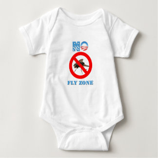 Barack Obama No Fly Zone Baby Bodysuit