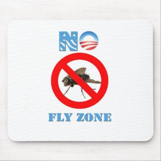 Barack Obama No Fly Zone Mouse Pad