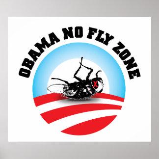 Barack Obama No Fly Zone Posters
