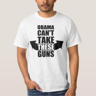 Barack Obama no puede tomar estos armas Playera