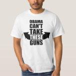 Barack Obama no puede tomar estos armas Poleras