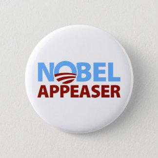 Barack Obama: Nobel Appeaser Button