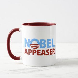 Barack Obama: Nobel Appeaser Mug