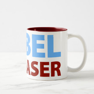 Barack Obama: Nobel Appeaser Two-Tone Coffee Mug