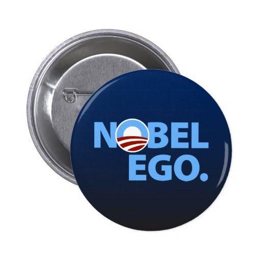 Barack Obama: Nobel Ego Buttons