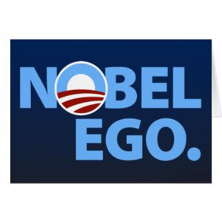 Barack Obama: Nobel Ego Card