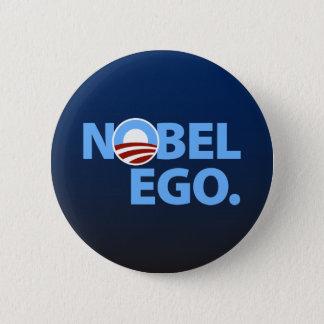 Barack Obama: Nobel Ego Pinback Button