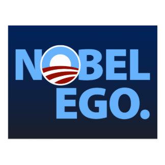 Barack Obama: Nobel Ego Postcard
