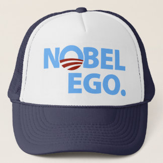 Barack Obama: Nobel Ego Trucker Hat
