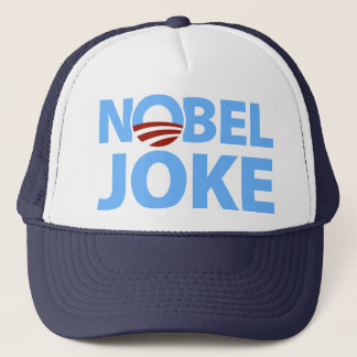 Barack Obama: Nobel Joke Trucker Hat