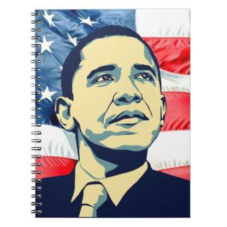 Barack Obama Note Books