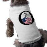 Barack Obama -- O Design Pet Tee Shirt