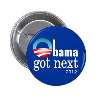 Barack Obama - Obama consiguió después Pin Redondo 5 Cm