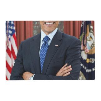 Barack Obama Laminated Placemat