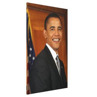 Barack Obama Official Portrait Canvas Print