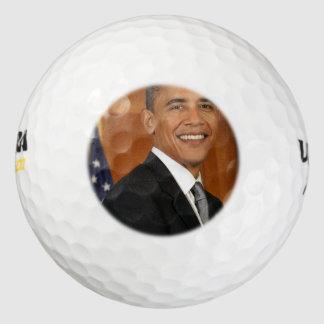 Barack Obama Official Portrait Golf Balls