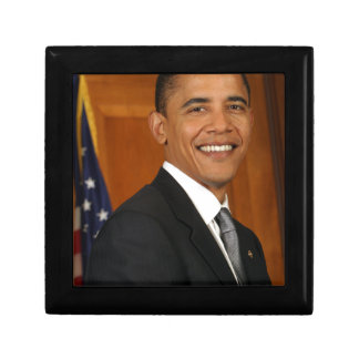 Barack Obama Official Portrait Keepsake Box