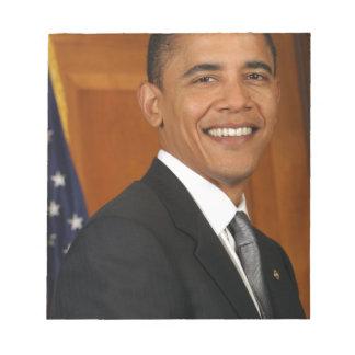 Barack Obama Official Portrait Notepad